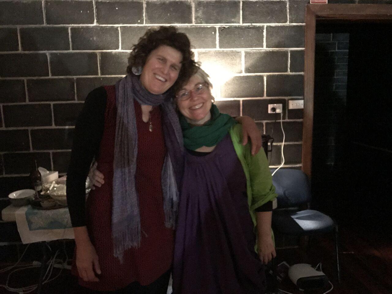 Helena and Edwina Relax and write 2017