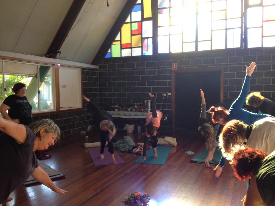 relax and write yoga