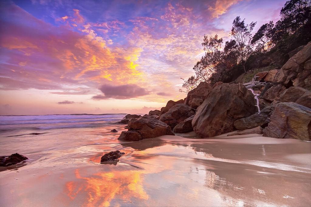 sunset evans head