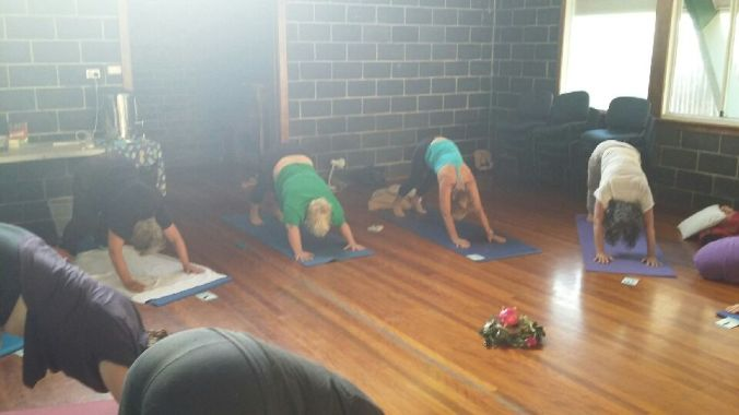 yoga camp 2 downward dog