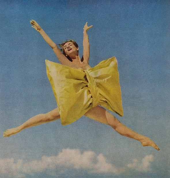 leaping wiht joy!